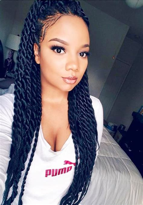 Hairstyles Senegalese Twists by Senegalese Twists Cred Hairstyles Curly