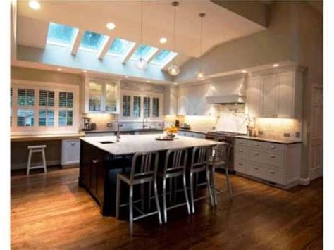 Modern Kitchen Vaulted Ceilings  Youtube