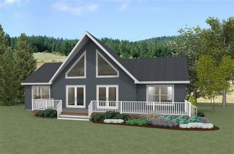 Ranch chalet modular home plans   Home design and style