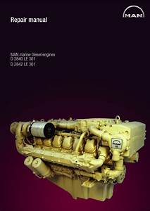Man Marine Diesel Engine D 2842 Le 301 Service Repair Manual
