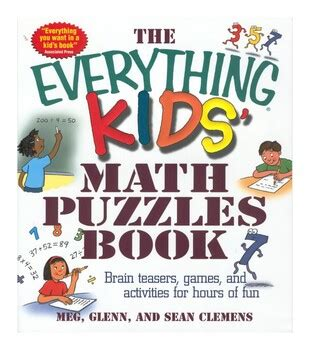 These four puzzles are tricky, but are a fun and simpler want to download this whole set as a single pdf? The Everything Kids - Math Puzzles eBook PDF by noureddine moussaid