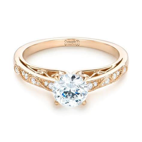 vintage inspired engagement ring 103298 seattle bellevue joseph jewelry
