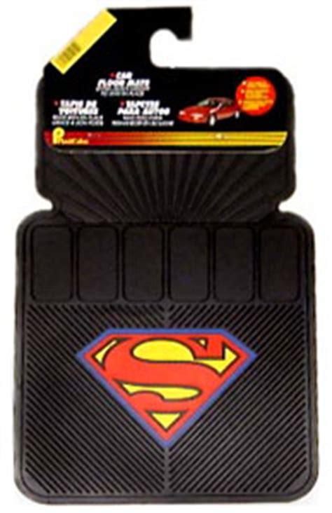 superman car mats plasticolor superman car floor mats pla727