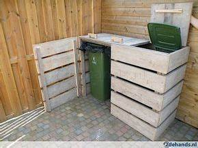 Coole Outdoor Möbel : best 25 garbage can storage ideas on pinterest outdoor trash cans trash can covers and ~ Sanjose-hotels-ca.com Haus und Dekorationen