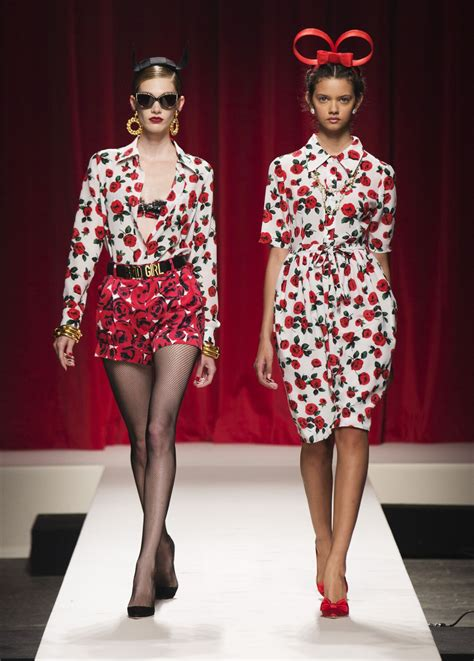 moschino spring summer  womens collection