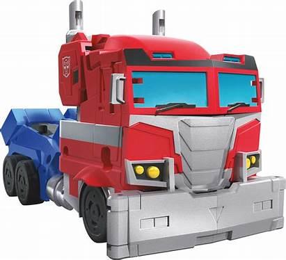 Cyberverse Transformers Deluxe Maccadam Prime Optimus Tra