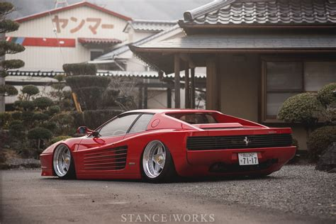 ferrari testarossa what makes a car quot cool quot kazuki ohashi 39 s 1989 ferrari