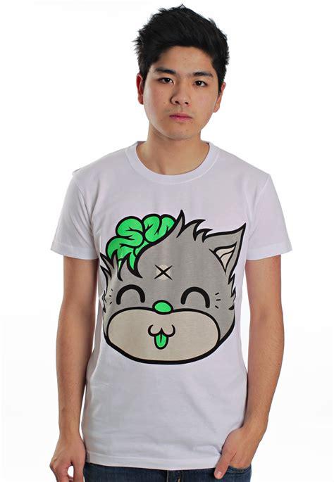 Drop Dead by Drop Dead Mascot White T Shirt Impericon