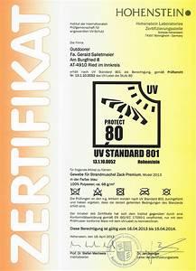 Uv Standard 801 Sonnenschirm : zertifizierter uv 80 schutz nach standard 801 f r zack premium ~ Sanjose-hotels-ca.com Haus und Dekorationen
