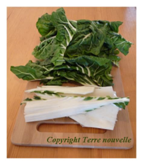 cuisiner feuilles de blettes mobilier table avril 2014