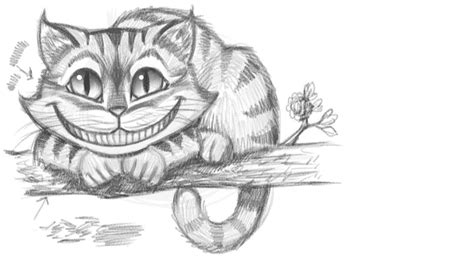 draw  cheshire cat youtube