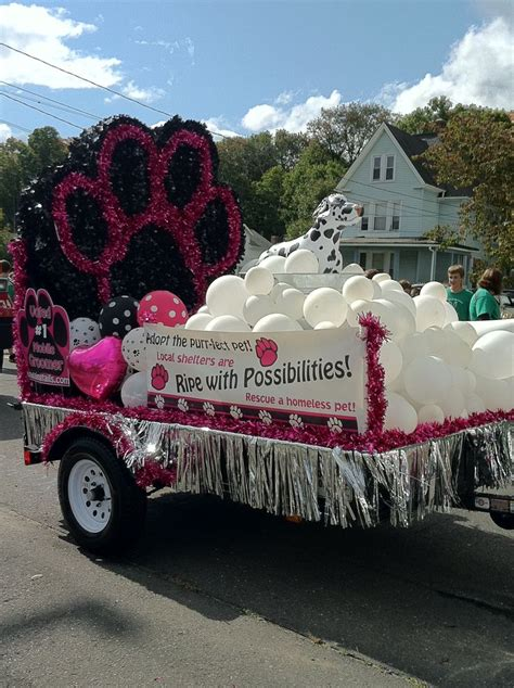 dog grooming parade float wagging tails llc mobile