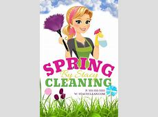 Spring Cleaning Template PosterMyWall