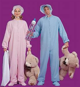 Baby Jammies Costume Pink Or Blue Candy Apple