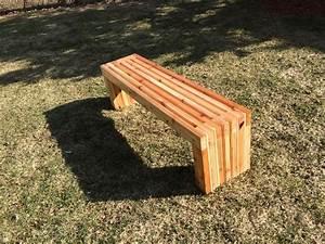 Outdoor Wood Storage Bench Plans
