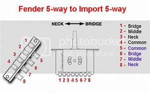 Import 5 Way Switch Question