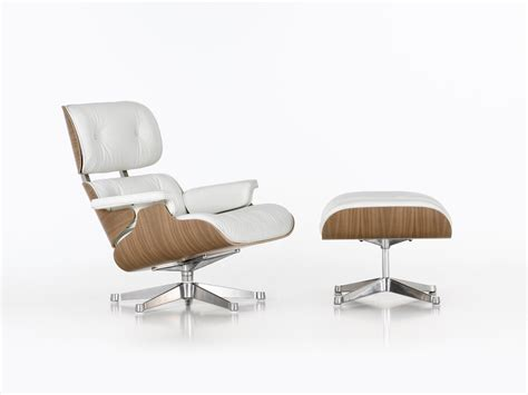 eams chaise buy the vitra eames lounge chair ottoman white at nest