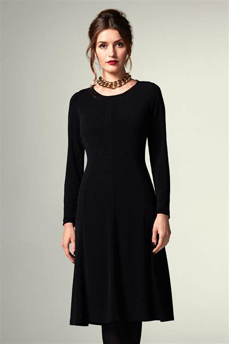 Jersey Dress Black - Caroline Charles Caroline Charles