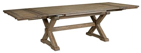 rustic dining room tables with leaves rustic weathered gray saw buck dining table with self 9264