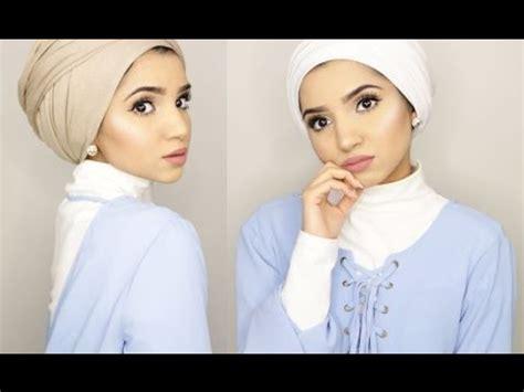 turban hijab tutorials    dina tokio