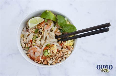 Coconut Basil Pad Thai
