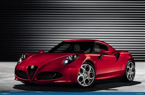Ausmotive.com » Alfa Romeo 4c To Weigh Less Than 960kg