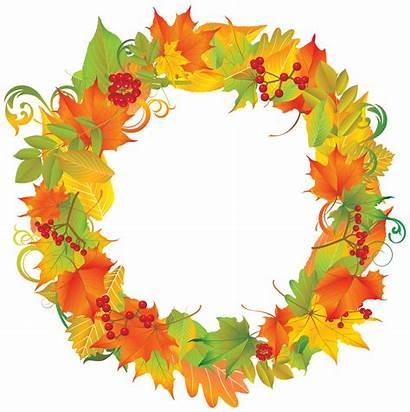 Wreath Autumn Clipart Fall Transparent Yopriceville Pngio