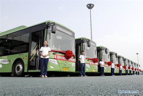 32 Electric Buses Put Into Operation In Linfen, N China's