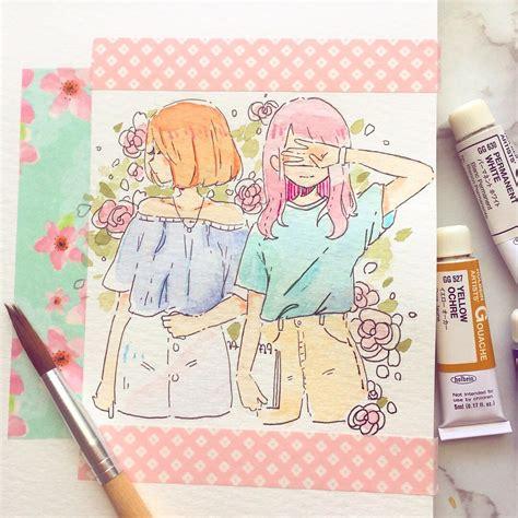ira atiraexe twitter cute art drawings sketch book