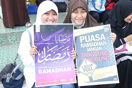 Obat Aborsi Lombok Poster Dakwah Ramadhan 1 Ratusan Remaja Sambut Ramadhan