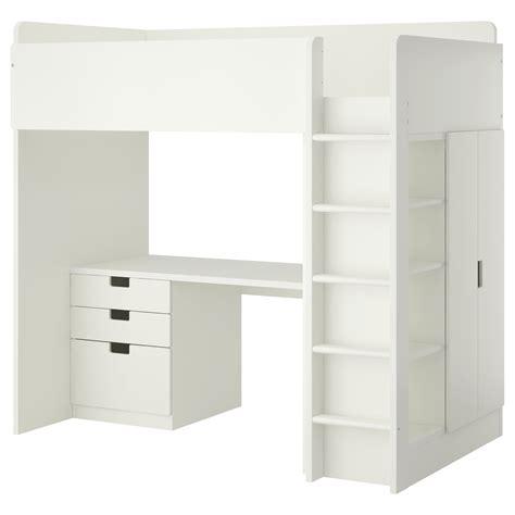 loft beds for ikea stuva loft bed combo w 3 drawers 2 doors white 207x99x193 cm ikea