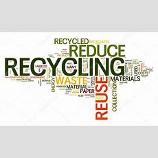 Recycling In Word Tag Cloud — Stock Photo © Olechowski #8017579
