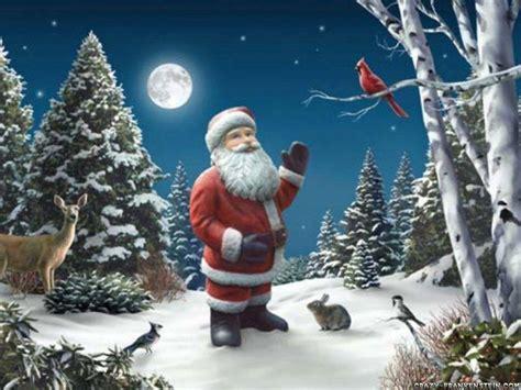 Wallpaper Santa by Santa Claus Desktop Wallpapers Wallpaper Cave