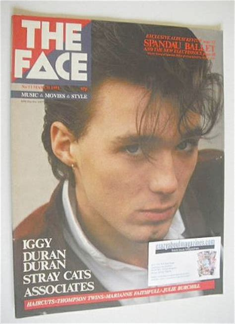 five minutes with martin edition magazine the magazine martin kemp cover march 1981 issue 11