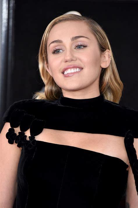 Miley Cyrus – 2018 Grammy Awards in New York • CelebMafia