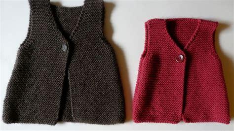 formation adulte cuisine tuto tricoter pas à pas un gilet sans manches pour