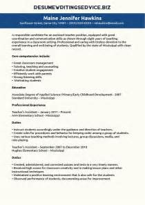 teaching assistant resume teaching resume on resumes teaching and interviews