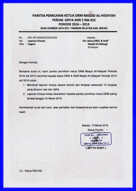 contoh surat berita acara serah terima jabatan ketua rt