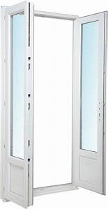 Porte Fenetre Pvc 2 Vantaux : porte fen tre pvc 2 vantaux h215xl140cm bricoman ~ Nature-et-papiers.com Idées de Décoration