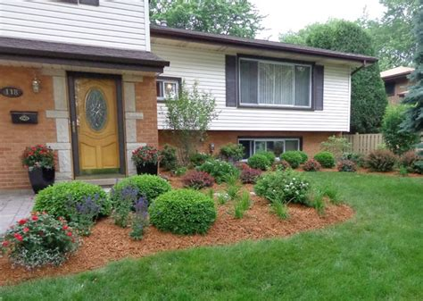 split foyer landscaping ideas split level landscape traditional landscape chicago by in out design
