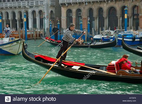 Canal Boat Italy by Quot Venice Italy Quot Canal Boat Gondolier Driving