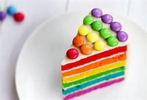 Kindergeburtstag Kuchen Einfach : rezept regenbogenkuchen kitchengirls ~ Frokenaadalensverden.com Haus und Dekorationen