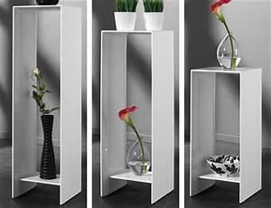 Telefontisch Weiß Hochglanz : high gloss blumens ule hochglanz weiss ebay ~ Markanthonyermac.com Haus und Dekorationen