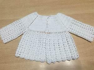 tuto facile brassiere veste bb au crochet youtube With robe de barbie au crochet avec explication en francais