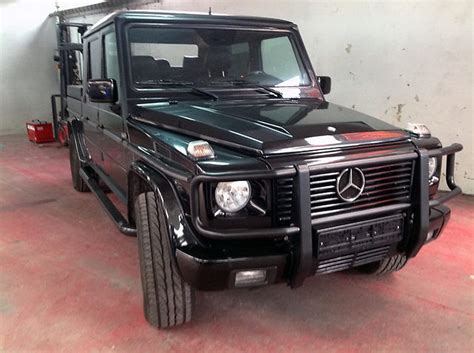 mercedes g500 pickup un mercedes benz g500 quot lang quot pickup truck ist larger than