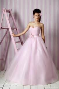 pink wedding gowns balbier wedding dresses 2012 kisses bridal collection wedding inspirasi