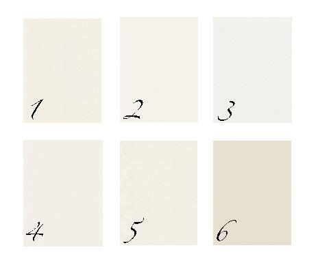 benjamin 1 ivory white 2 white dove 3 decorators white 4 atrium white 5 acadia white