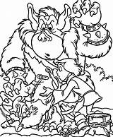 Ogre Coloring Designlooter Cavin Gummy Fight Bear Pages Help 731px 91kb sketch template