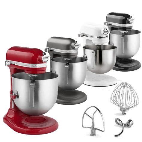kitchenaid 1 3 hp kitchen aid commercial mixer 8 quart variable speed 1 3 hp countertop stand mixer w accessories