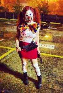 Scary Killer Clown Costumes